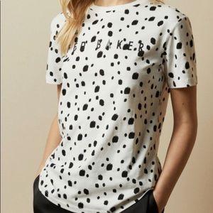 Never Worn Ted Baker Polka Dot shirt